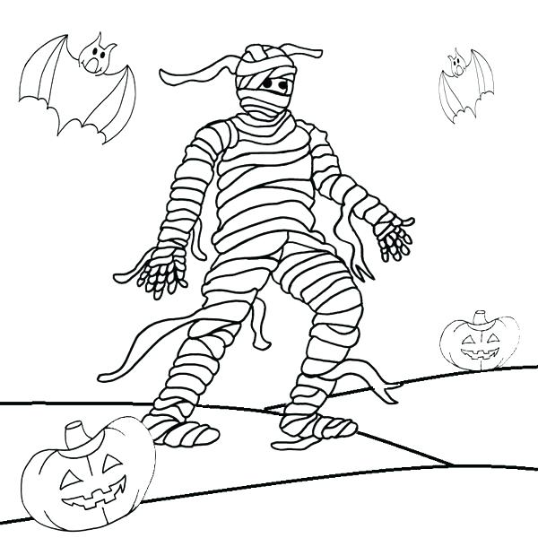 600x600 Mummy Coloring Page This Is Mummy Coloring Pages Pictures Mummy