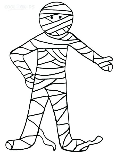 450x600 Mummy Coloring Pages Image Of Mummy Coloring Pages Egyptian Mummy