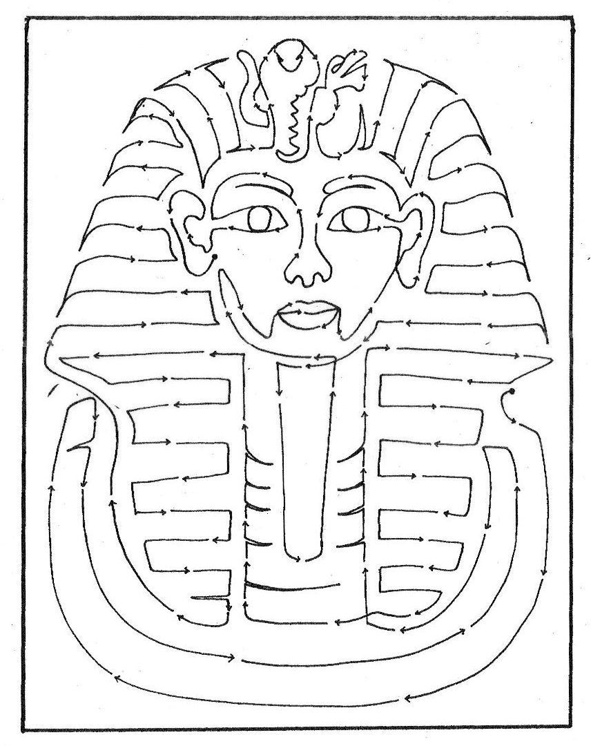 856x1080 Unbelievable King Tut Coloring Pages Funycoloring Of Egyptian
