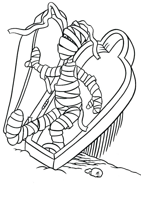 600x836 Coloring Egyptian Mummy Coloring Pages Man Page Sheets Egyptian