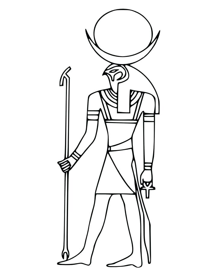 721x924 Drawing Mythology Coloring Page Gods And Goddesses Printable Pages