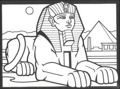 235x175 Free Ancient Egypt Coloring Pages About All Together, Only