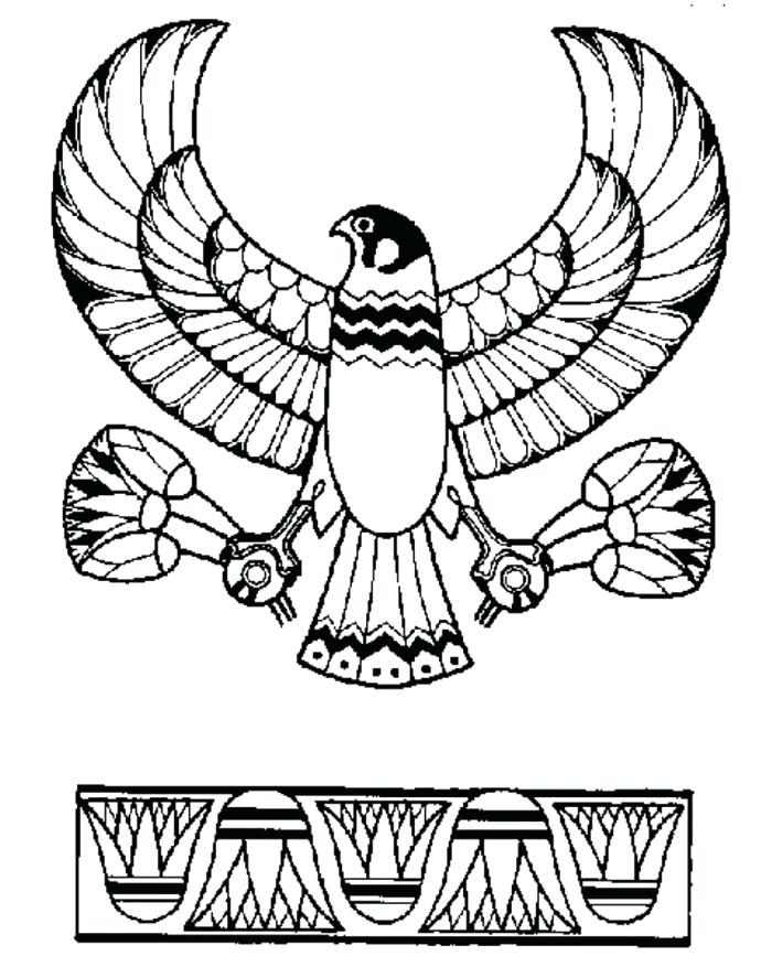 700x867 Egypt Coloring Page Ancient Coloring Pages Egypt Hieroglyphics