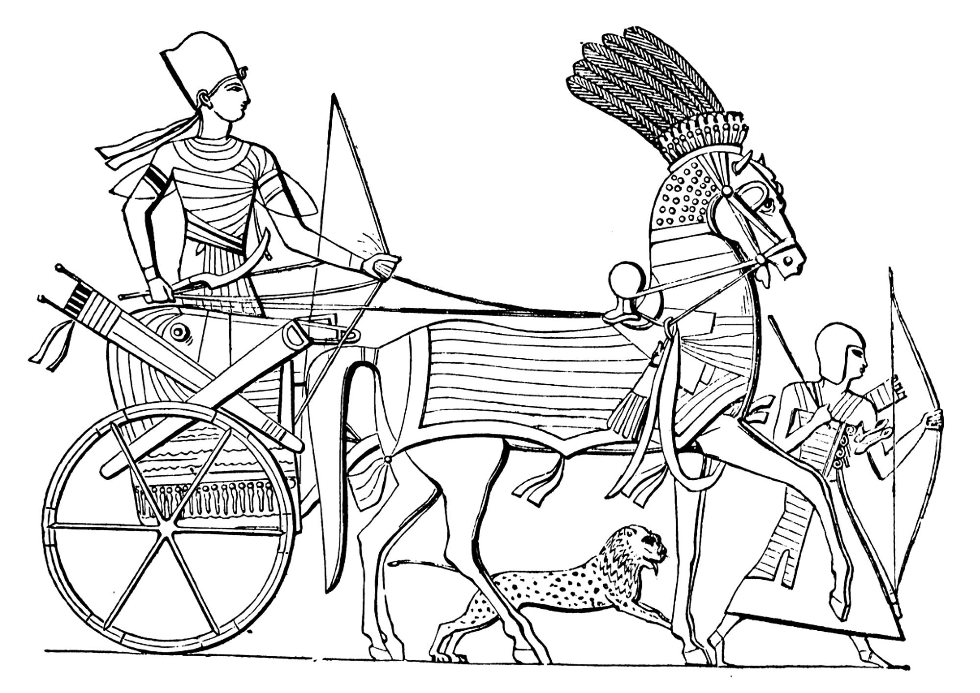 Egyptian Queen Coloring Pages at GetDrawings | Free download