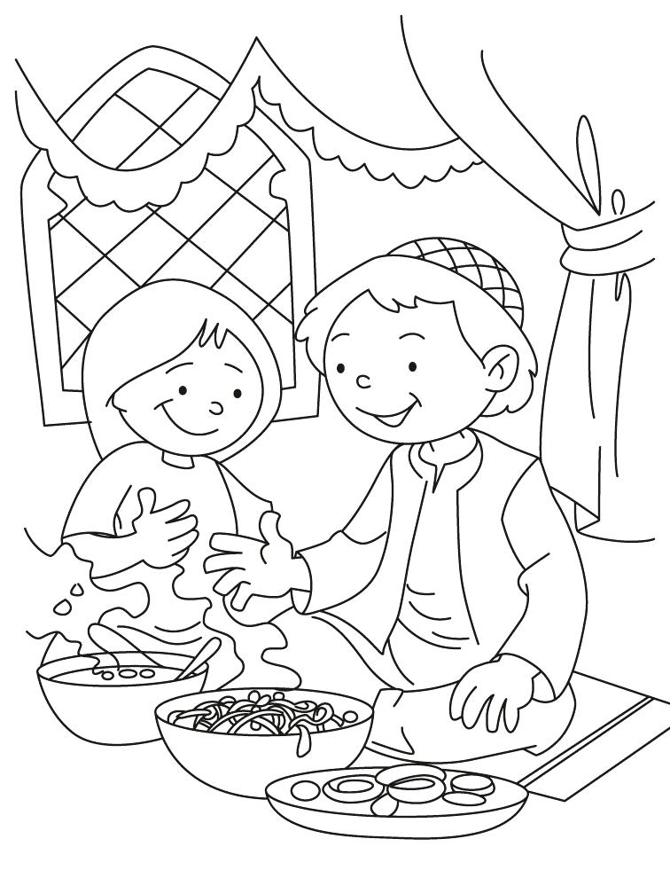 756x990 Eid Coloring Pages Coloring Pages Colouring Pages Cards Coloring