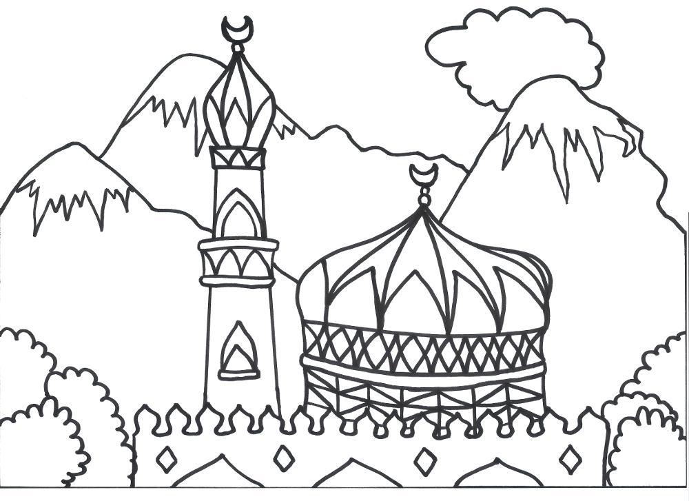 1000x727 Eid Coloring Pages Coloring Pages Com Design Art Coloring Pages