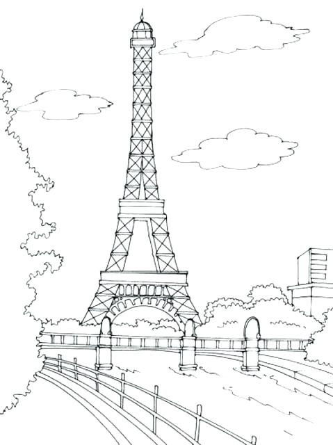 479x640 Eiffel Tower Coloring Pages Tower Coloring Pages And Tower