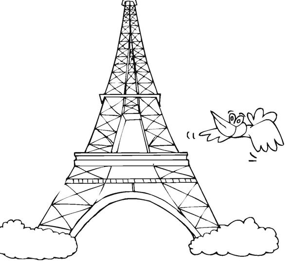 598x545 Bloons Tower Coloring Pages Crayola Coloring Pages Eiffel Tower