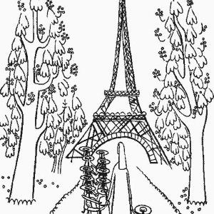 300x300 Eiffel Tower, Kindergarden Holiday At Eiffel Tower Coloring Page