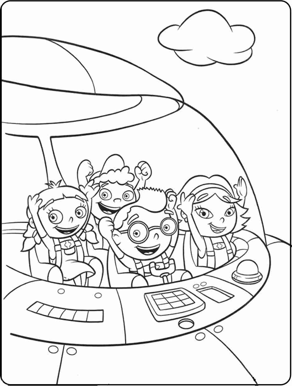 937x1239 Competitive Little Einsteins Coloring Pages