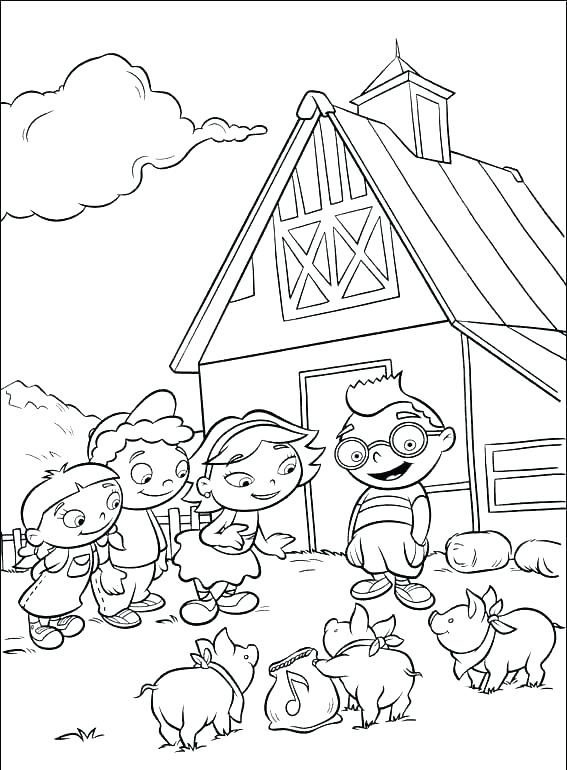 567x770 Disney Junior Little Einsteins Coloring Pages Little Colouring