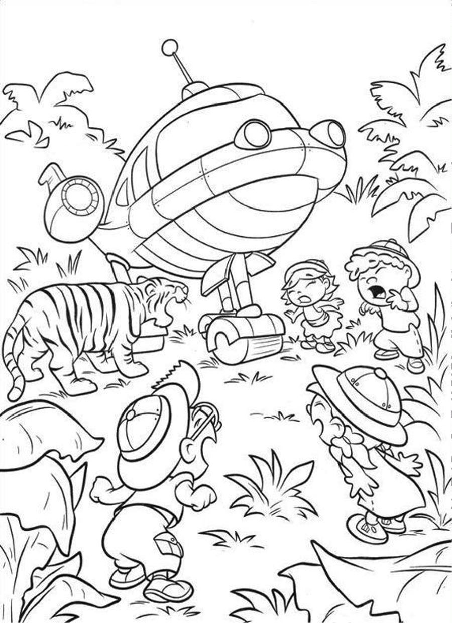 900x1240 Free Printable Little Einsteins Coloring Pages Get Ready To Learn