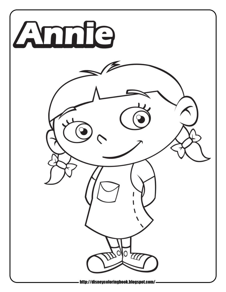 791x1024 Little Einsteins Coloring Page Pages Annie Get Bubbles