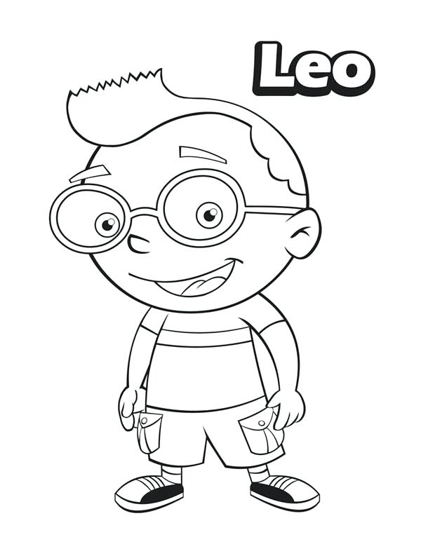 600x776 Little Einsteins Coloring Pages Little From Little Coloring Page