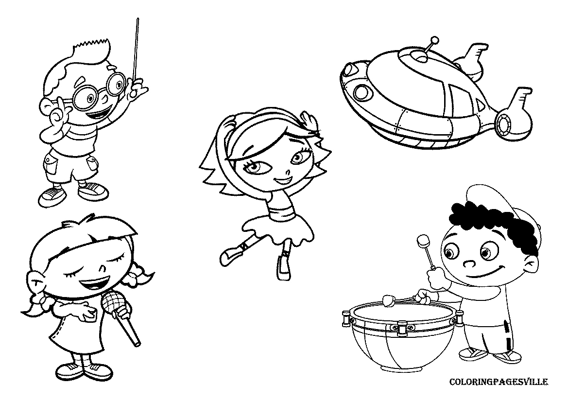 1169x827 Little Einsteins Coloring Pages Lovely Little Einsteins Coloring