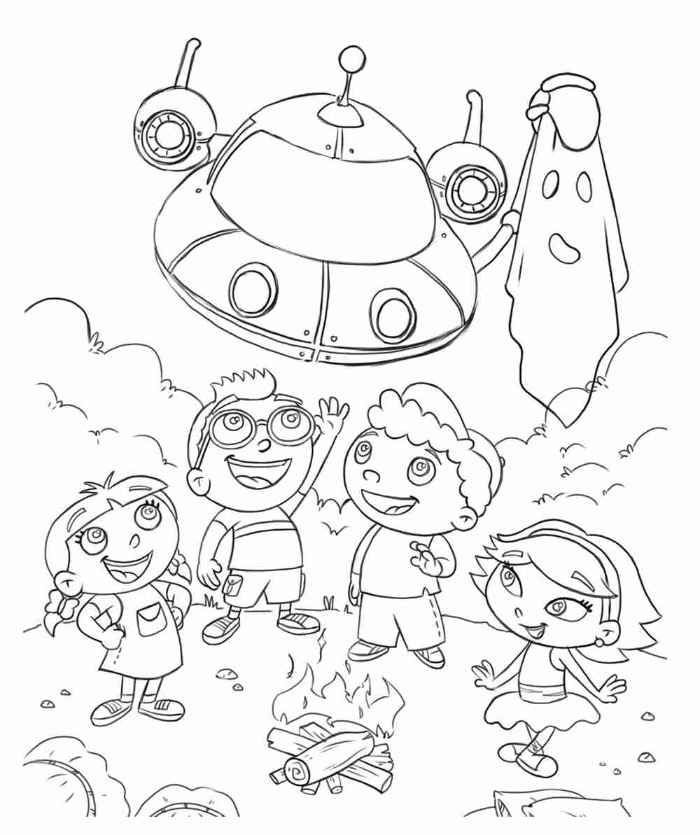 1000x1193 Little Einsteins Coloring Pages Printable Coloringstar Exceptional