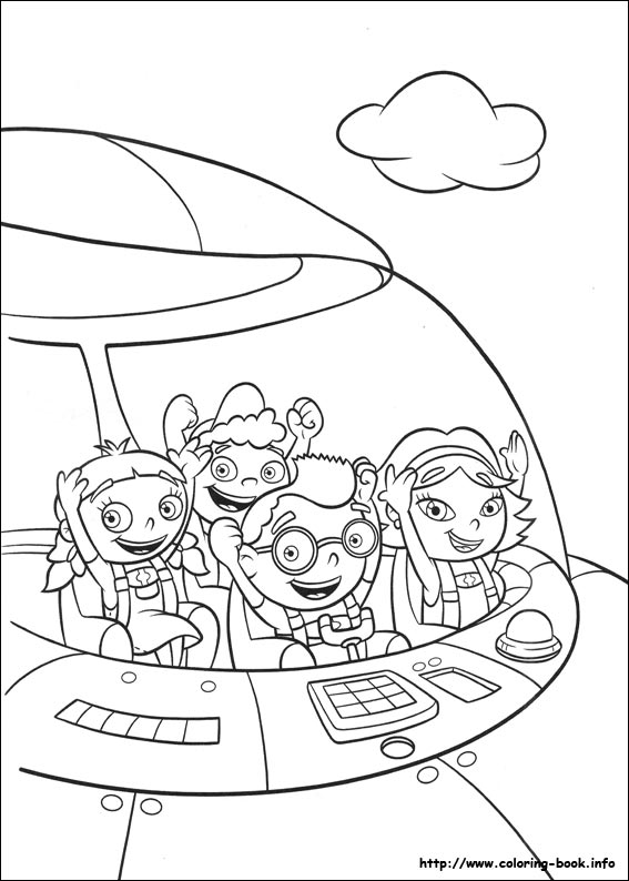 567x794 Little Einsteins Printable Coloring Pages