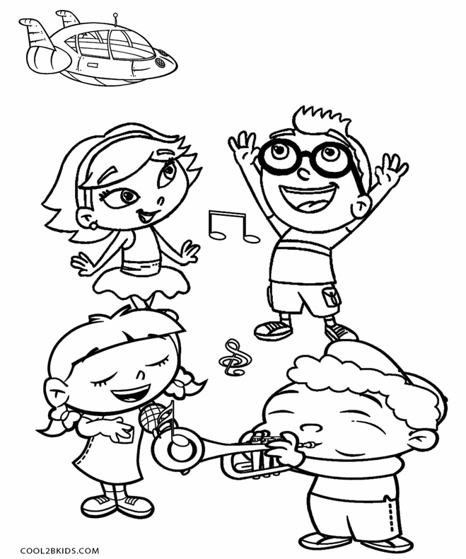 659x790 Printable Little Einsteins Coloring Pages For Kids