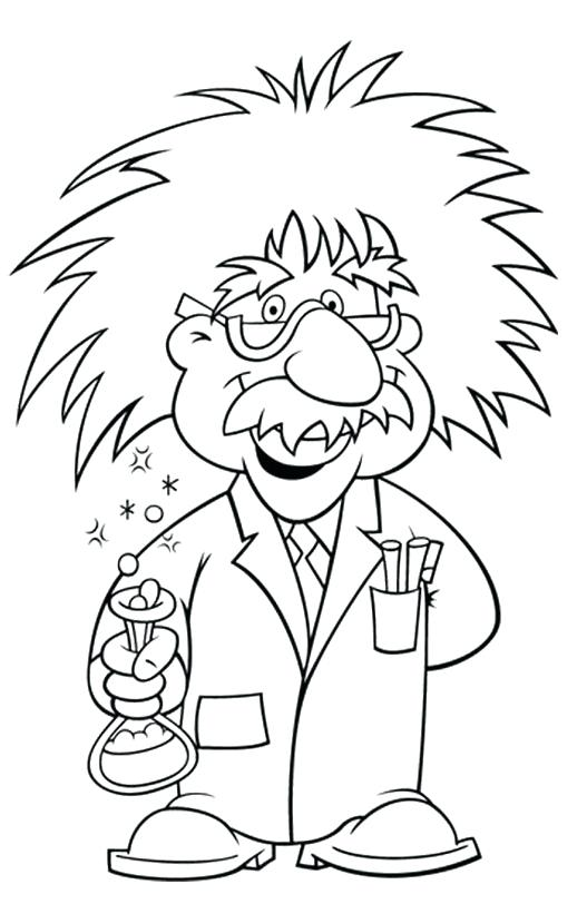 527x812 With Pictures Wore Glasses Coloring Pages Albert Einstein Coloring