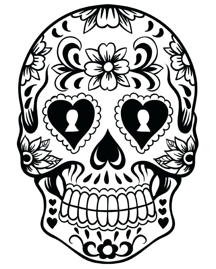 728x909 Dia De Los Muertos Coloring Pages Pdf