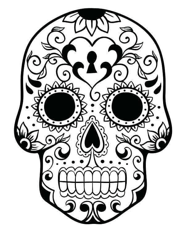 600x750 Dia De Los Muertos Art Coloring Pages Coloring Pages