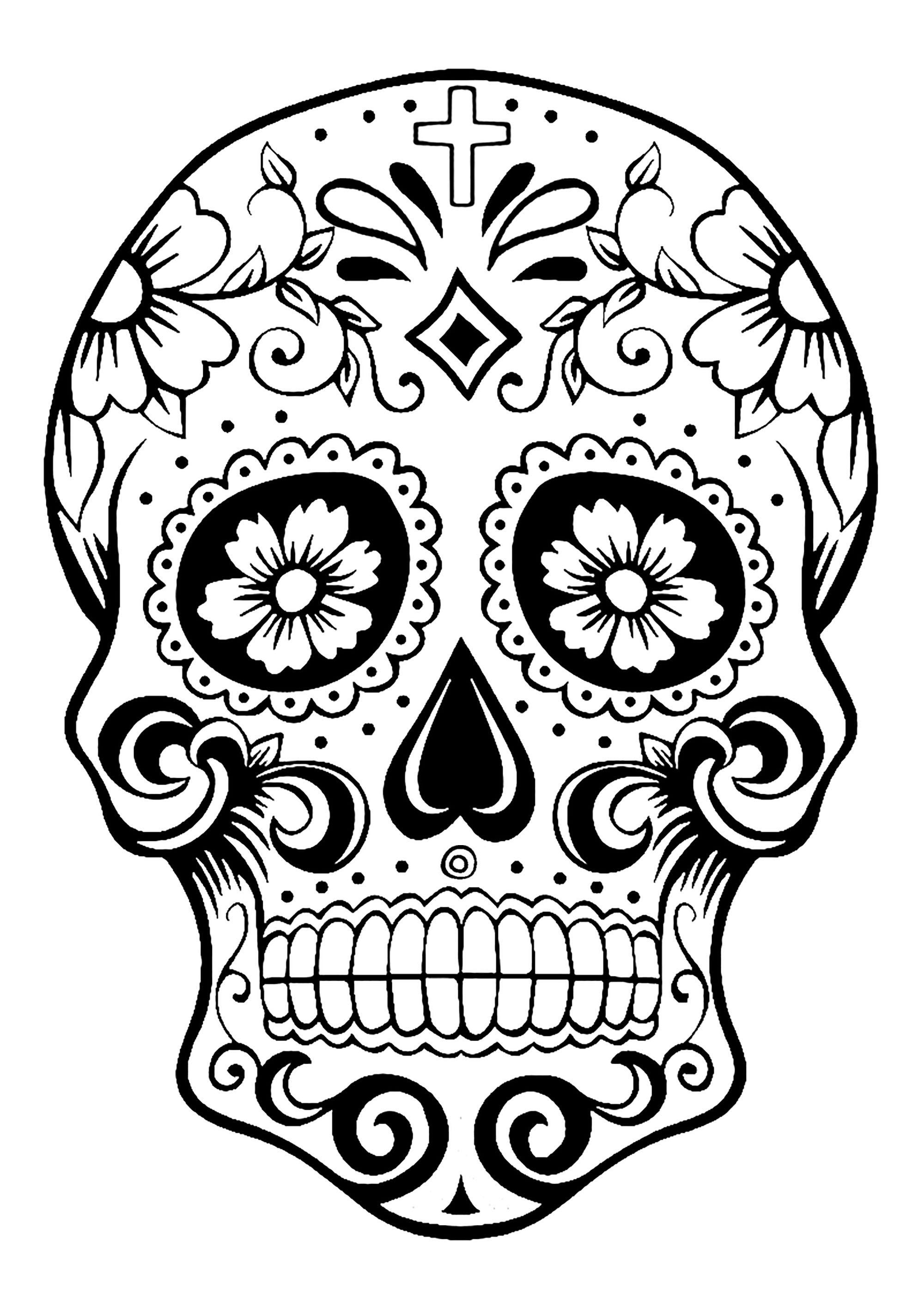 2000x2828 El Dia De Los Muertos
