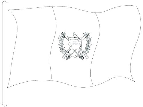 500x376 El Salvador Flag Colouring Page Kids Coloring Pages How Wisekids