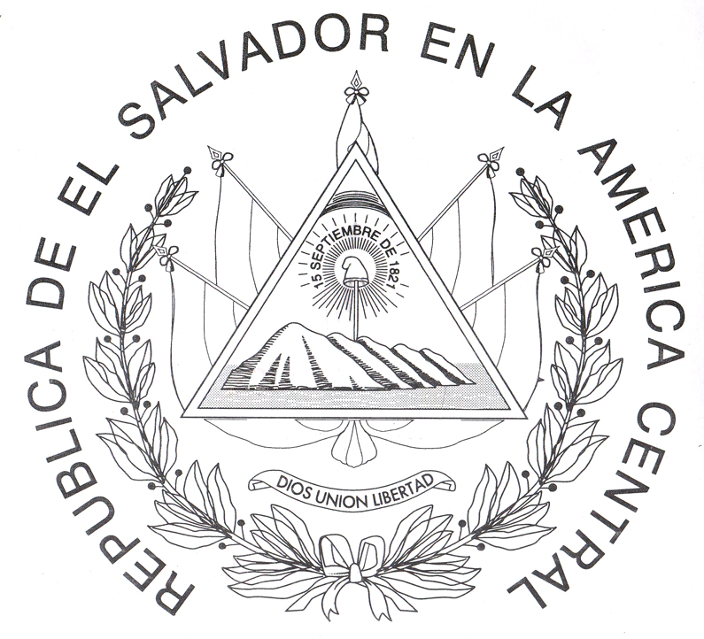 795x722 El Salvador Coloring Pages