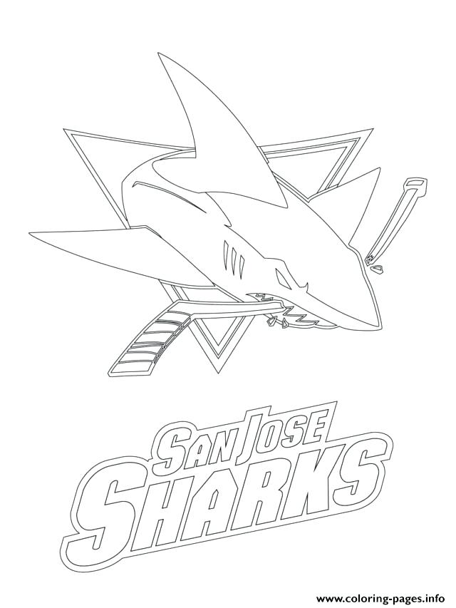 640x853 Nhl Logo Coloring Pages