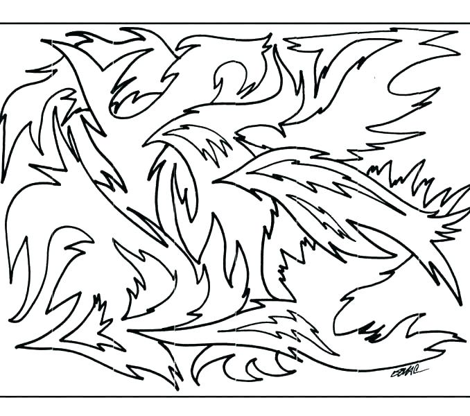678x600 Abstract Coloring Pages For Kids Fashionable Design Abstract
