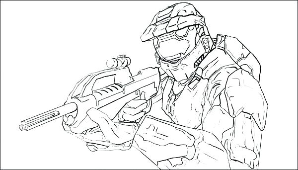 600x342 Halo Coloring Page Halo Coloring Pages Cool Halo Coloring Pages