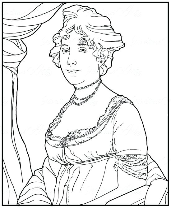 550x672 Eleanor Roosevelt Coloring Page Items Similar To Coloring Page