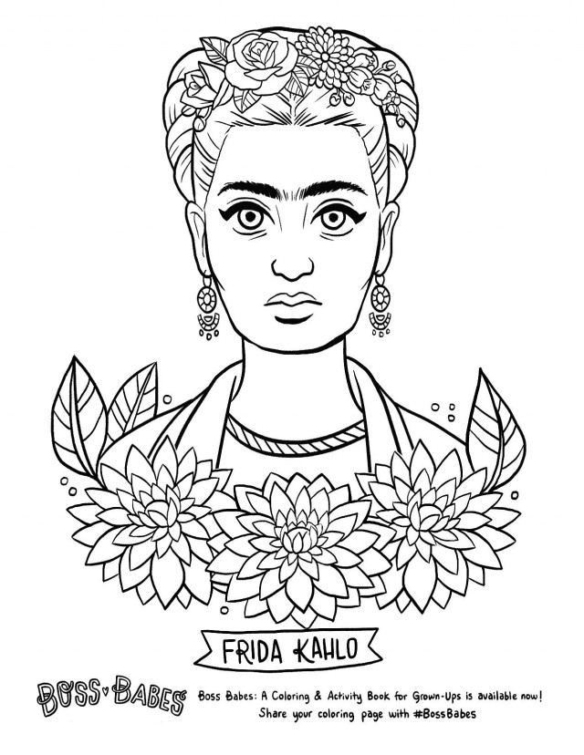 640x828 This Is The Feminist Coloring Book You've Been Waiting