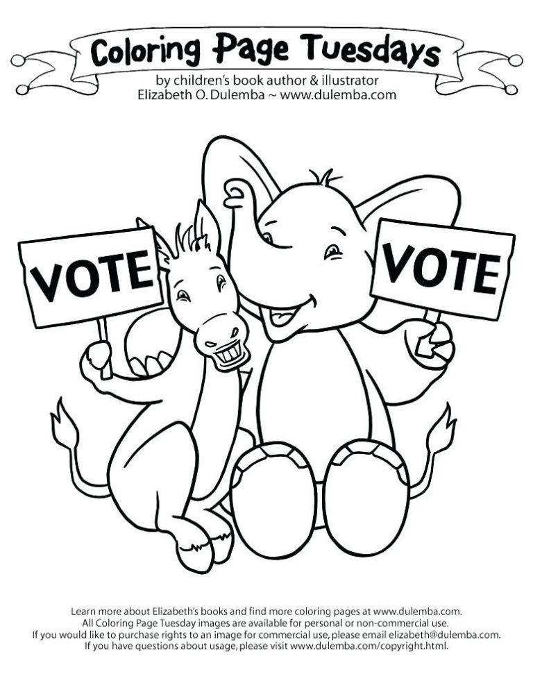 768x994 Election Day Coloring Pages Preschool Best Of Constitution Bill
