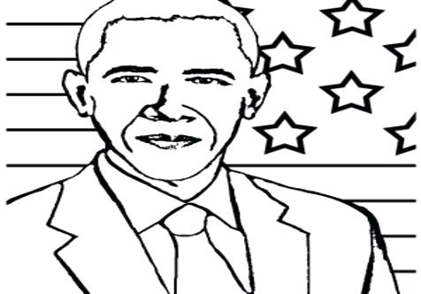 476x333 Obama Coloring Pages And His Daughters Mitt Election Poster
