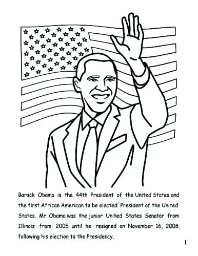 386x500 President Obama Coloring Page Coloring Pages Awesome Websites