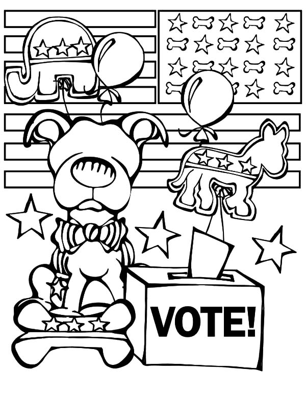 600x776 Republican Elephant Coloring Pages
