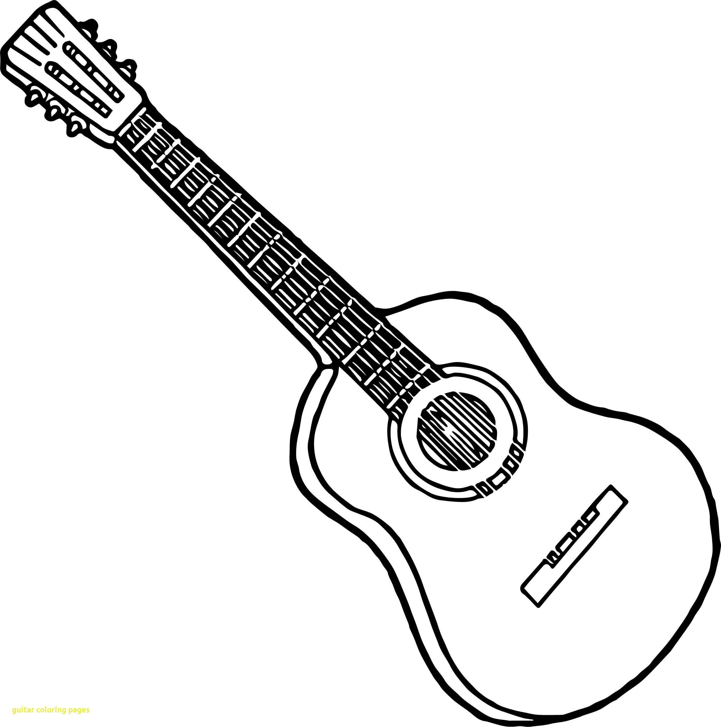 2378x2398 Guitar Coloring Pages With Strings Playing