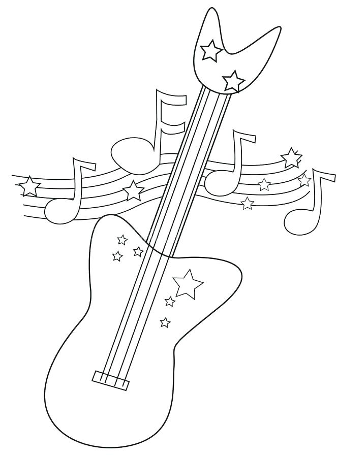 663x900 American Dragon Jake Long Coloring Pages Free Electric Guitar