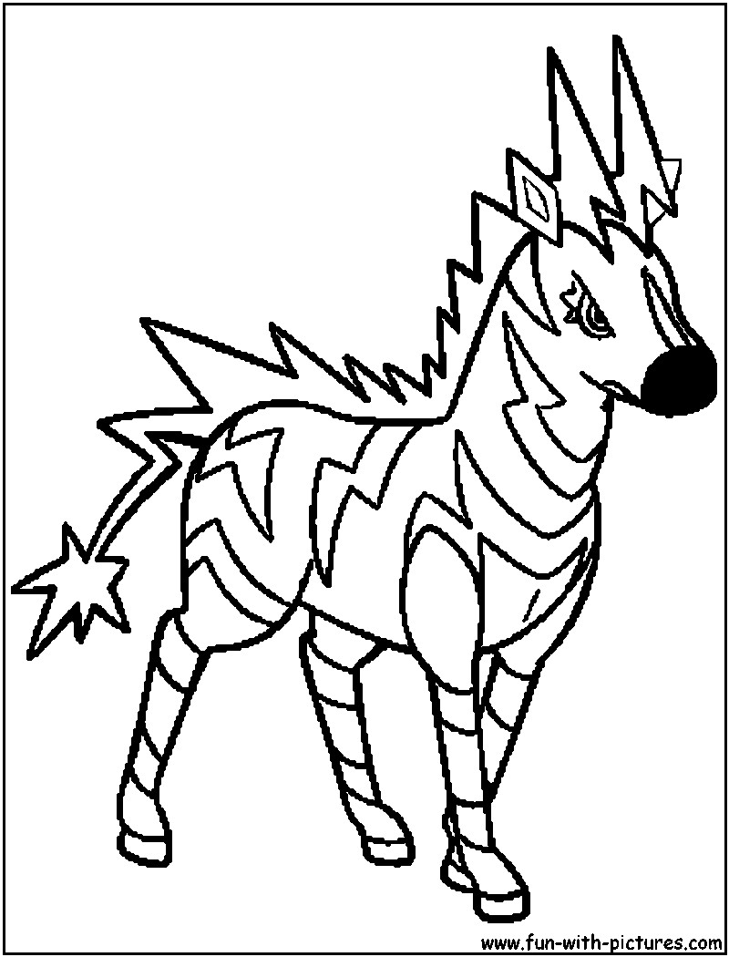 Electric Pokemon Coloring Pages at GetDrawings | Free download