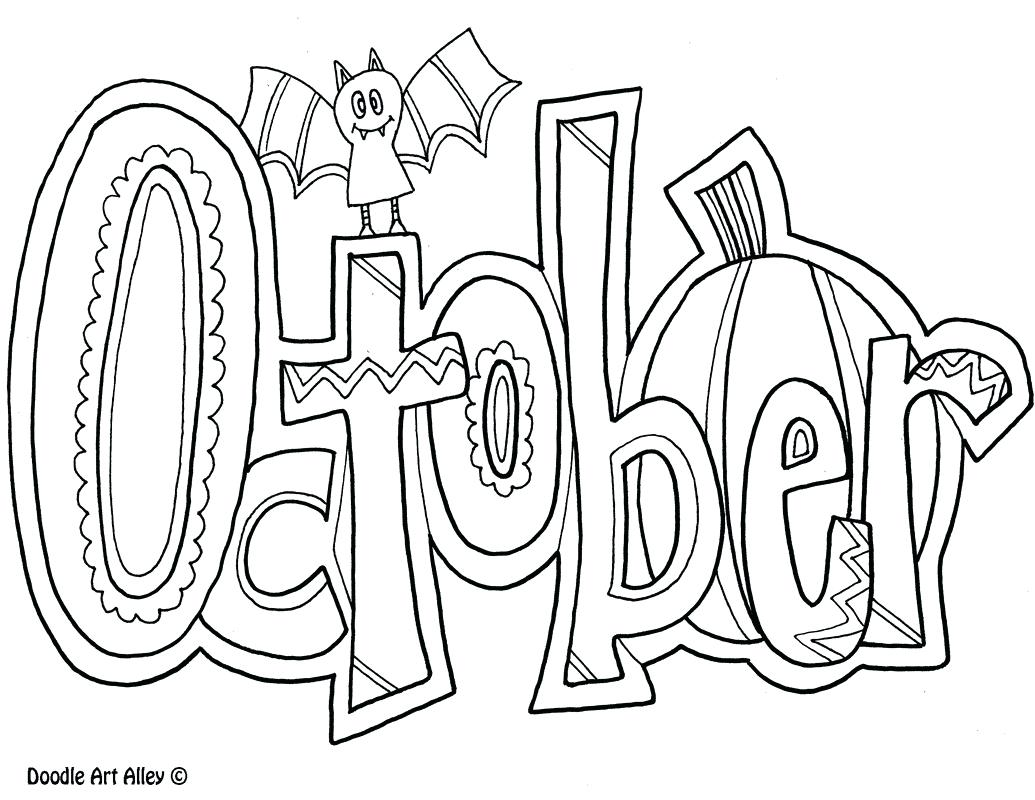 1035x800 Halloween Coloring Sheets Printable For Free All Holiday Pages