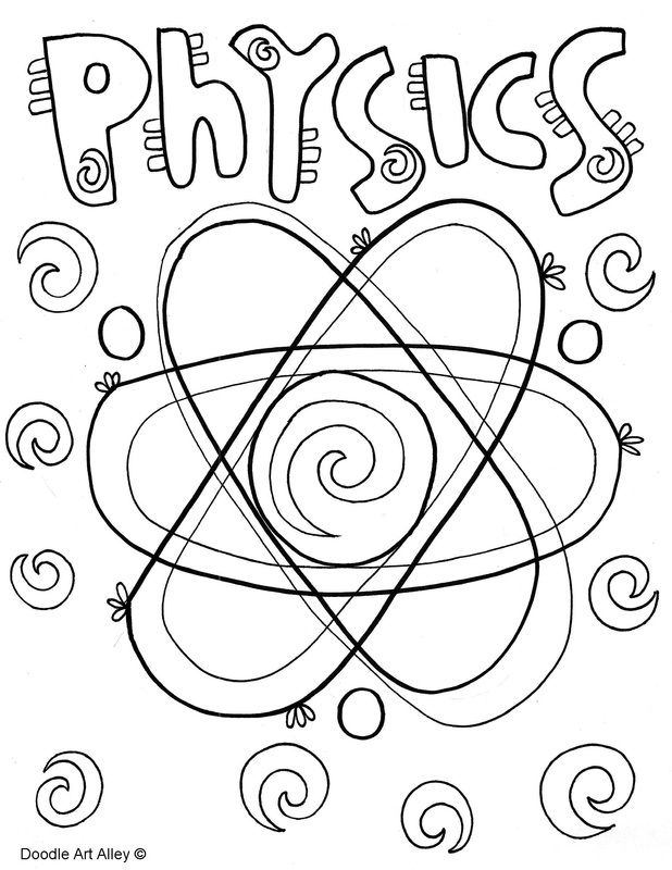 618x800 New Physics Coloring Book
