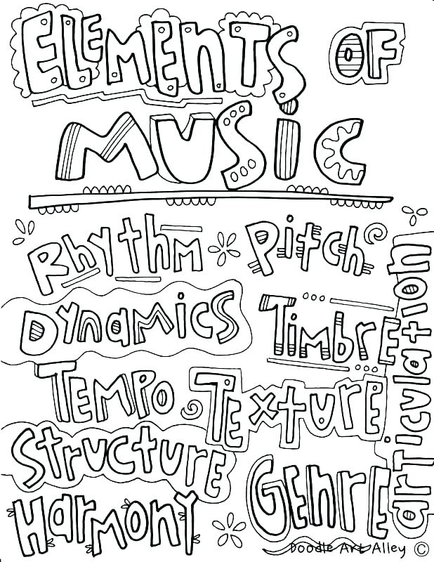 618x800 Coloring Pages Music Free Music Coloring Pages Musical Instrument