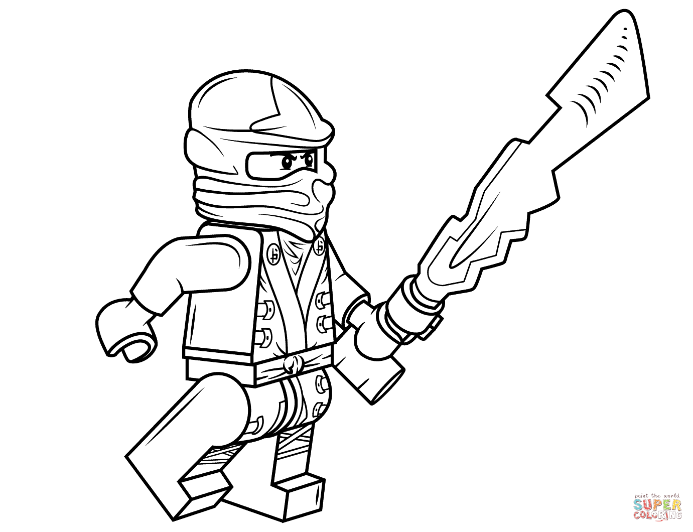 1381x1060 Coloring Pages Ninjago Lego Tournament Of Elements The Brick Fan