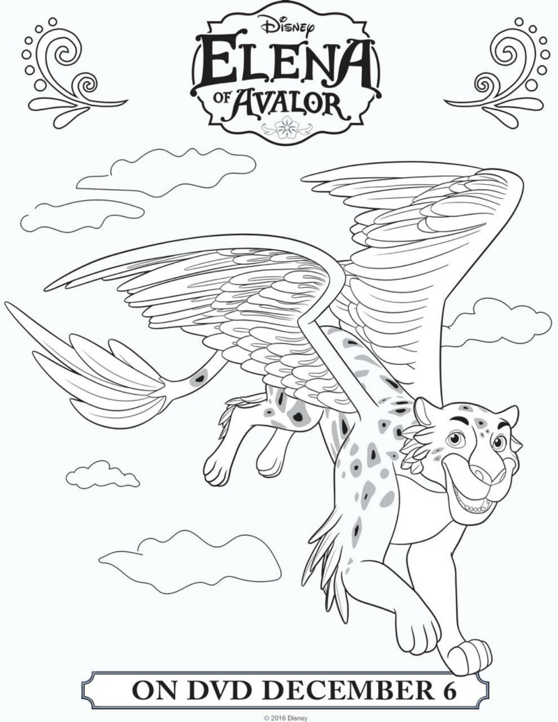 The Best Free Avalor Coloring Page Images Download From 78