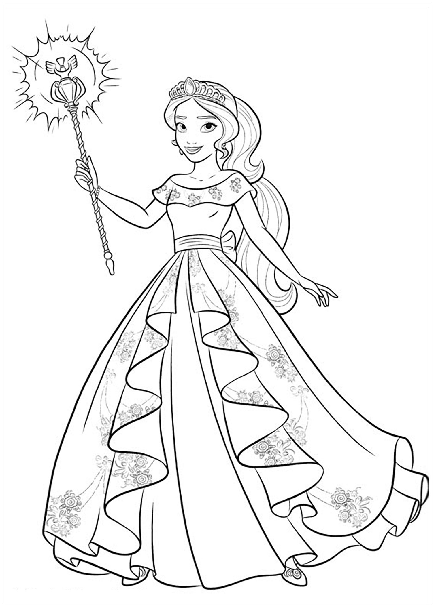 The Best Free Elena Coloring Page Images Download From 104 Free