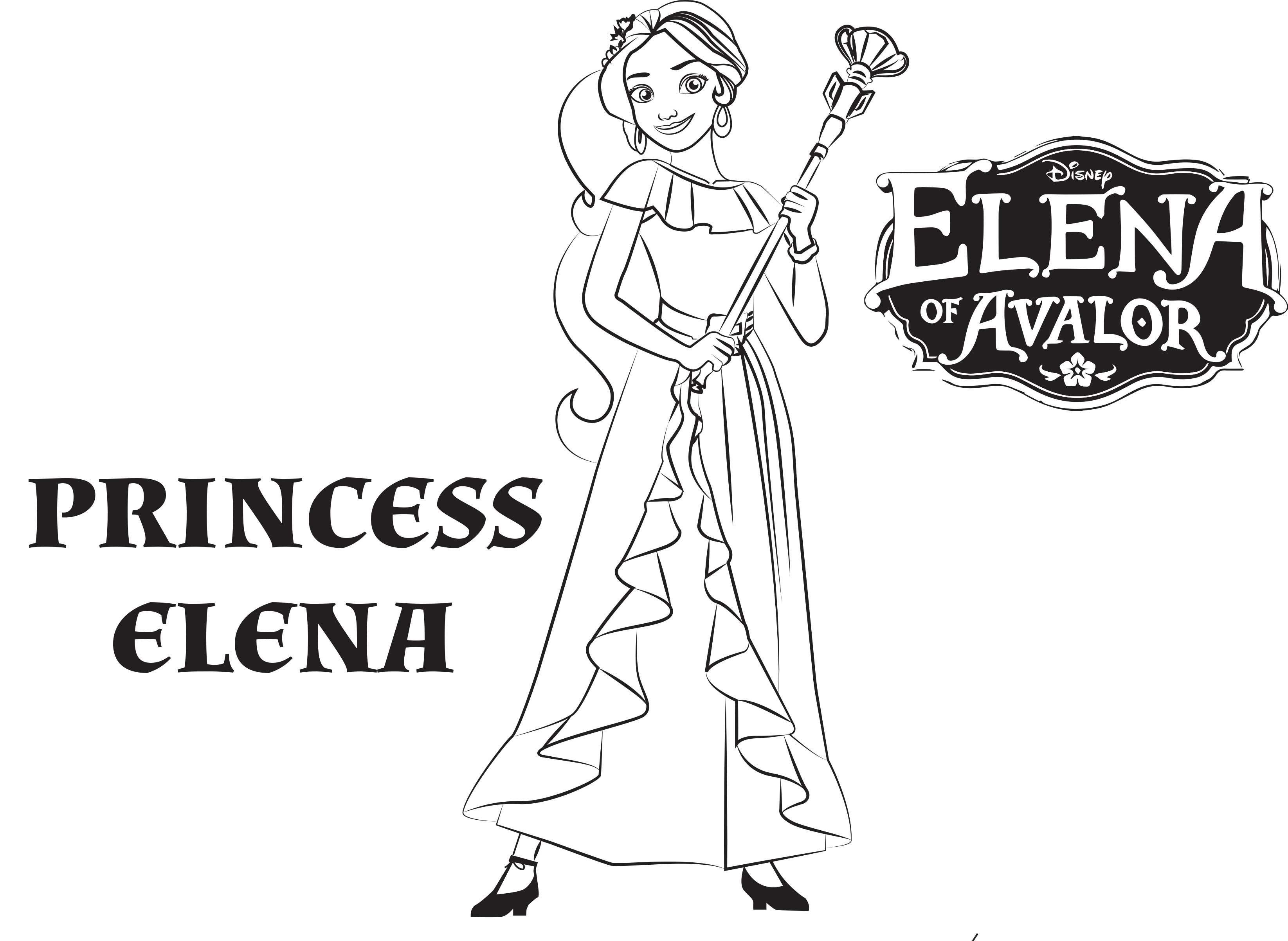 3291x2405 Fresh Princess Elena Coloring Pages Gallery Printable Coloring Sheet