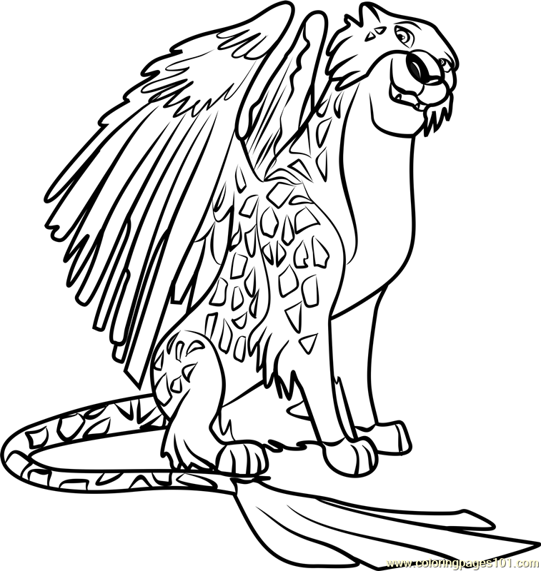 757x800 Migs Coloring Page