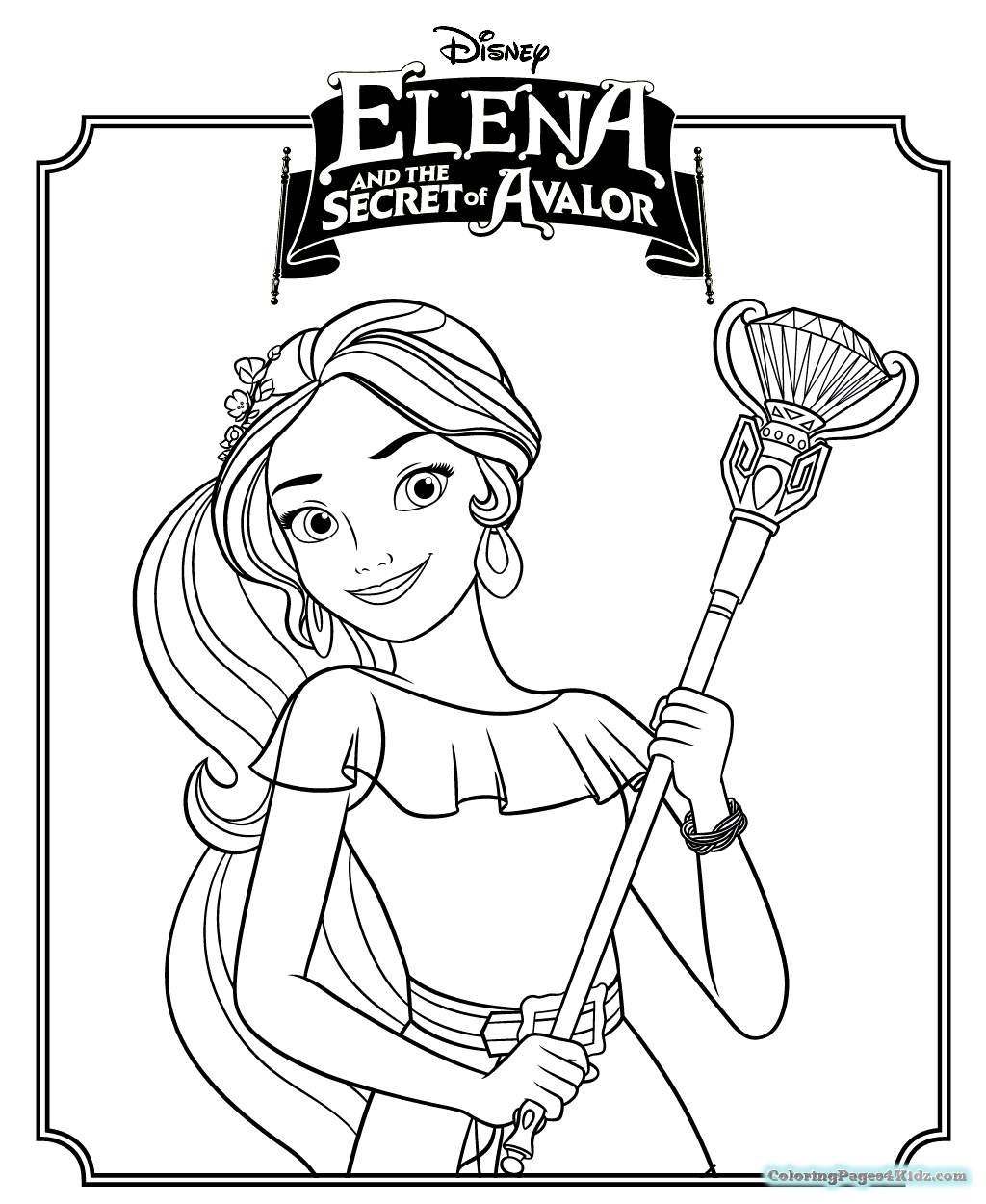1024x1250 Skylar And Nikko Elena Of Avalor Coloring Pages Coloring Pages