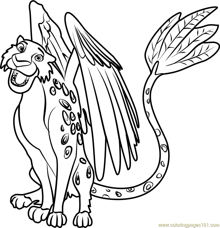 771x800 Skylar Coloring Page